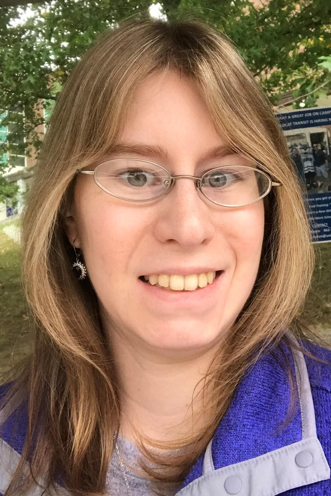Amanda Tellier MS in Statistics Student