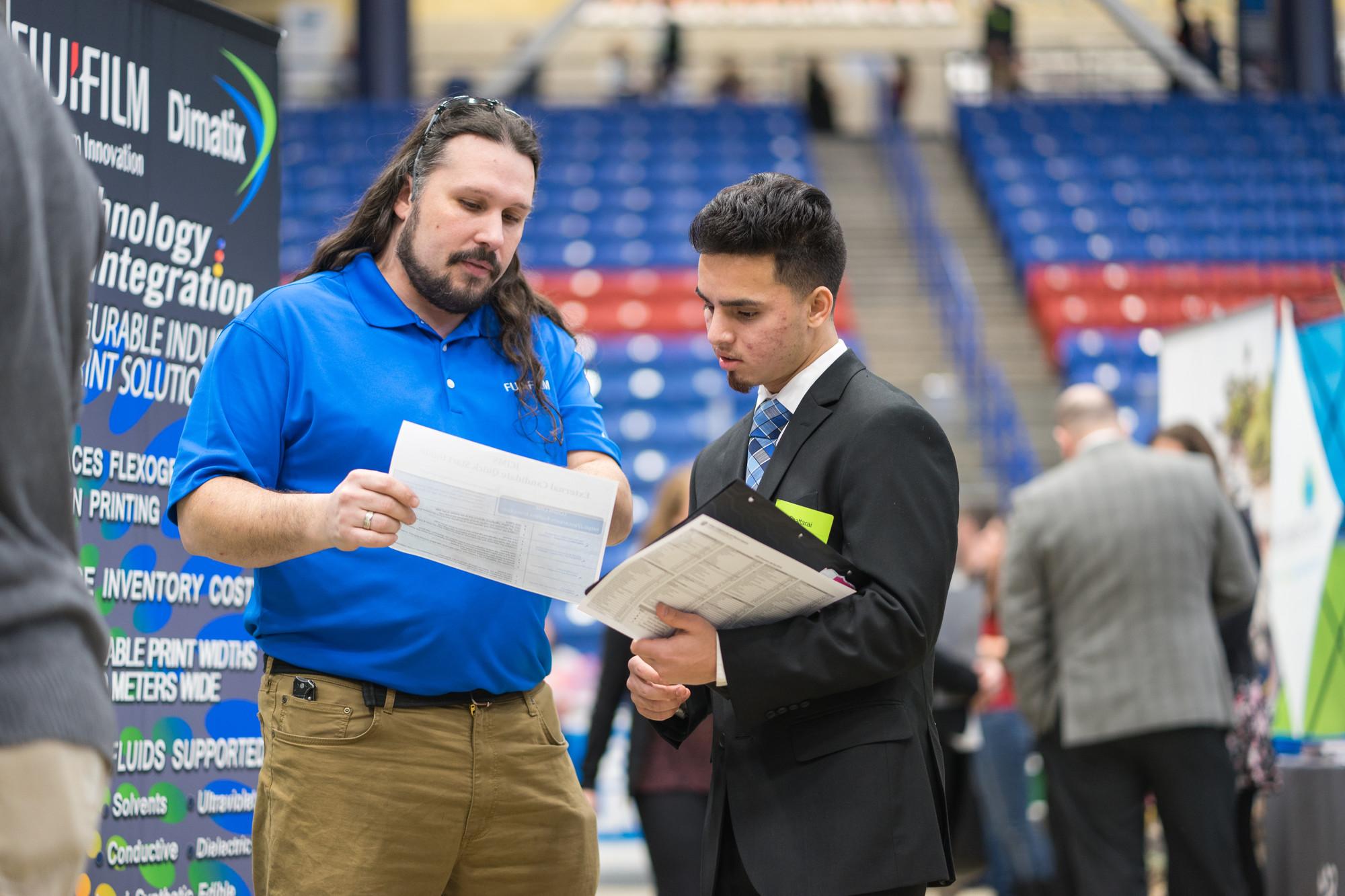 CEPS Student Career Fair