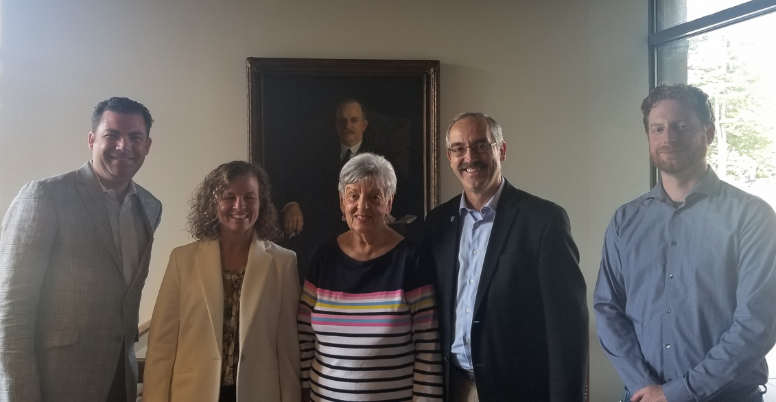 Visit to Parsons Hall