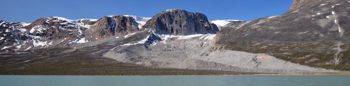 snowy mountain tops