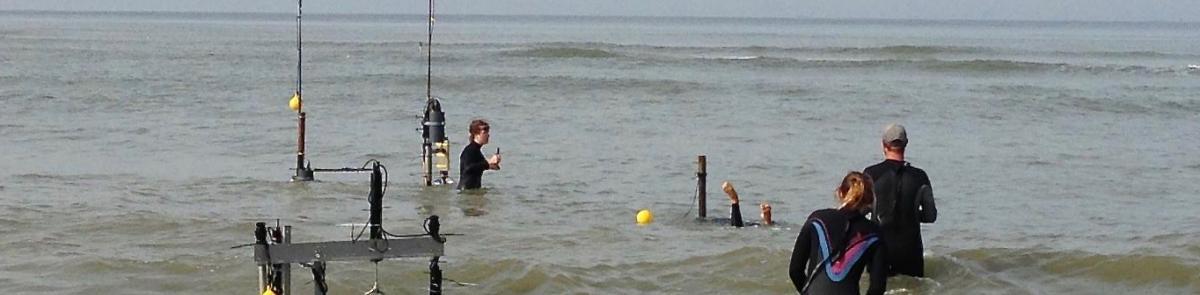 ocean engineering students in the ocean