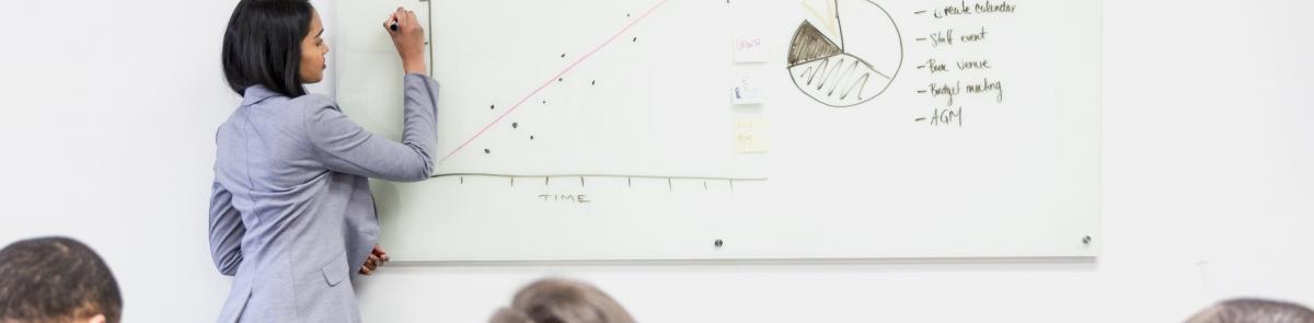 Presentation of data set to course