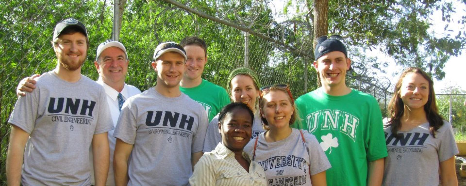 UNH's Engineers without boarders