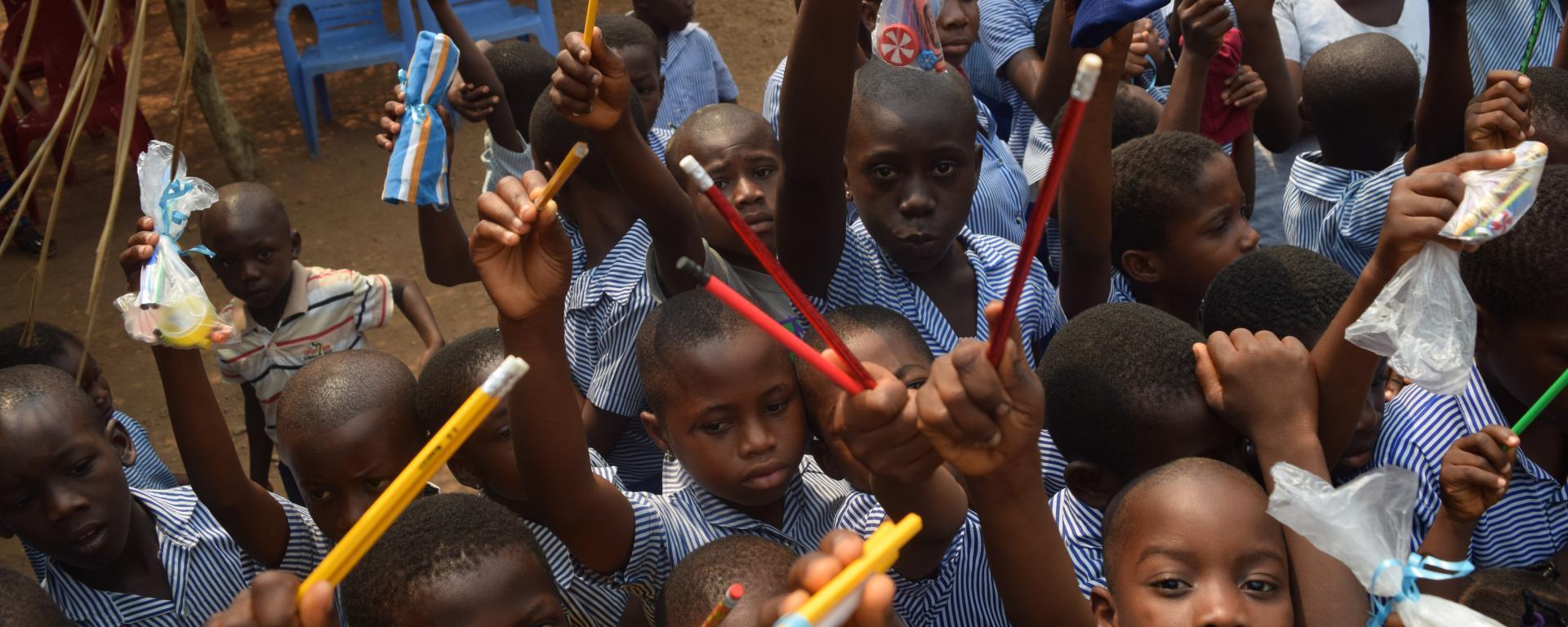 Katerina Messologitis Solar Project in Ghana, Africa