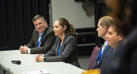 Panel at conference