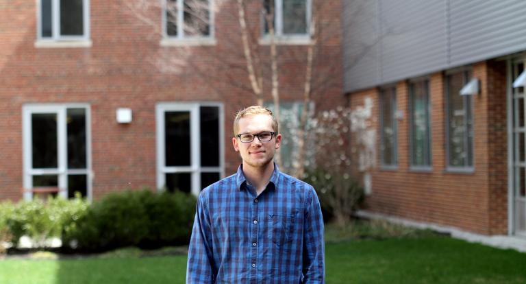Mechanical Engineering student Cody Best