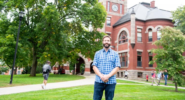 Graduate Student Gordon Hunter