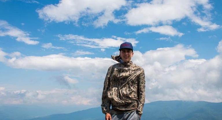 Ocean Engineering student Andrew Kelley