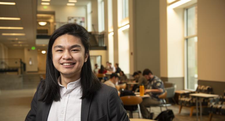 Math student Eden Suoth