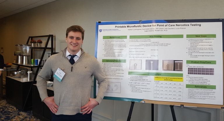 Nathan Cunningham '19 Bioengineering Major