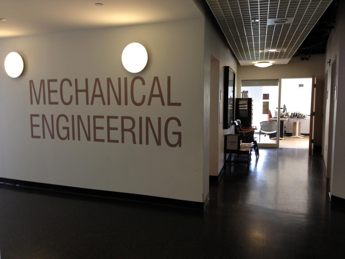 mechanical engineering wing