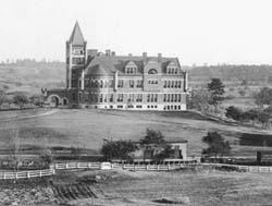 Historic picture of Thompson Hall