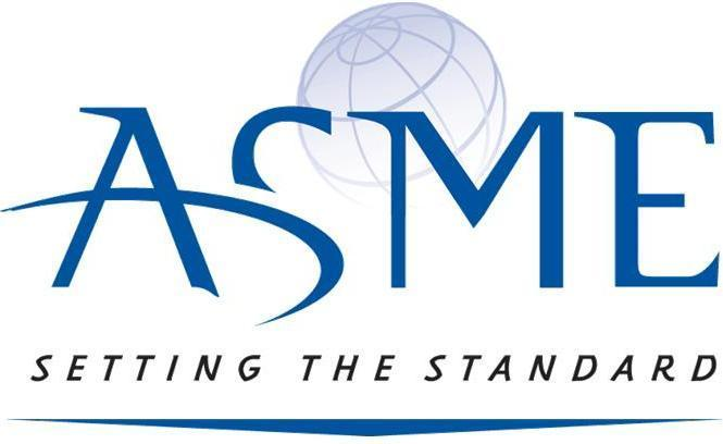 American Society of Mechanical Engineers Setting the Standard logo