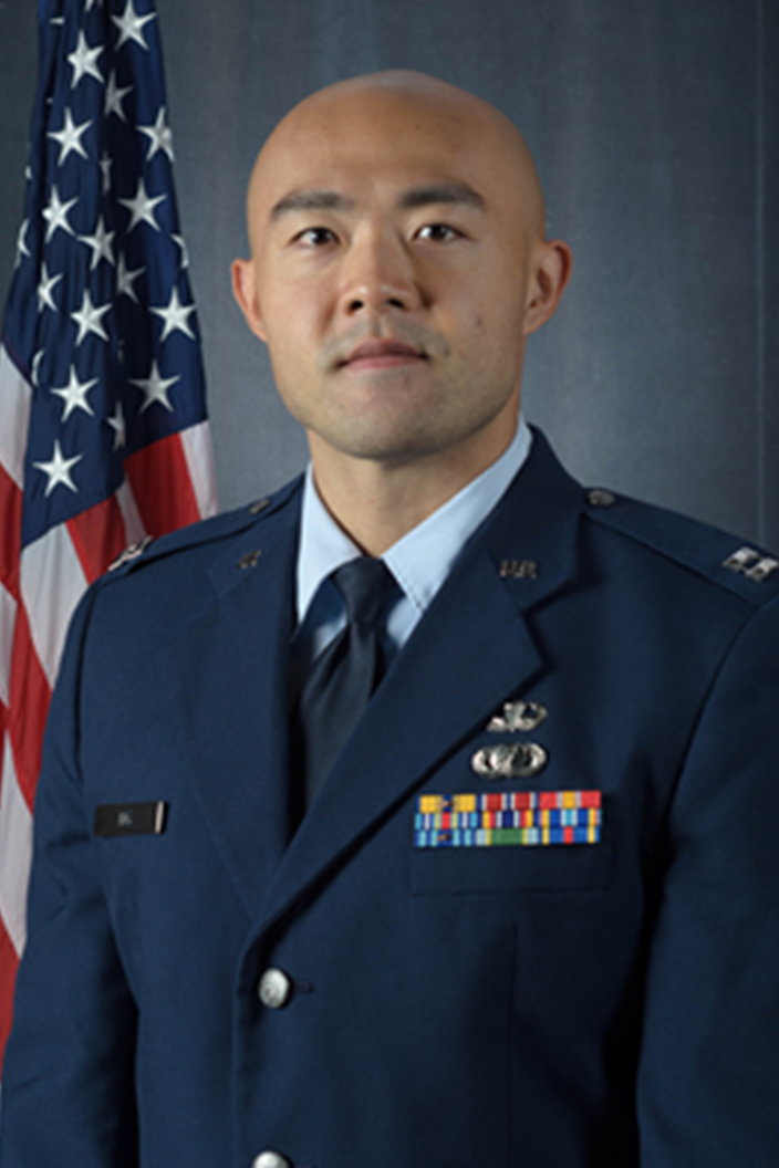 Captain Justin Ng, PhD in Integrated Applied Mathematics